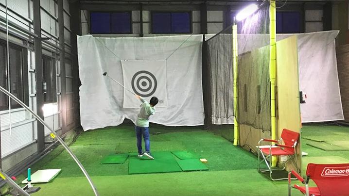 ゴルフトレインコート松本