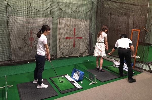 東京インドアゴルフのレッスン