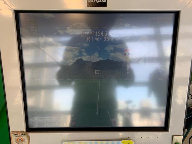 サンクチュアリゴルフの弾道解析の画像